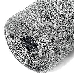 Comprar Tela Hexagonal Galvanizada Viveiro  Malha 1/2 fio 24x0,60 m - Rolo 50 M-Perame Telas E Arames