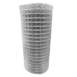 Comprar Tela Soldada Galvanizada, Malha 25x25mm, fio 1,24mm, 0,50x1m - 25 Metros-Perame Telas E Arames