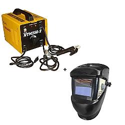 Comprar Transformador de Solda, 250 Amp�res, Monof�sica, 60 Hz  - NTM250-2 + M�scara de solda com escurecimento autom�tico-Nagano
