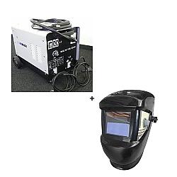 Comprar Transformador de Solda Mig-Mag 195-A com Gás e sem Gás + Máscara de solda com escurecimento automático-Neo Brasil