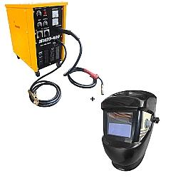 Comprar Transformador MIG/MAG 400 Ampéres Trifásico 60 HZ + Máscara de solda com escurecimento automático-Nagano Profissional