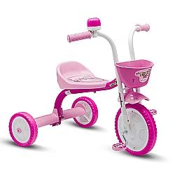 Comprar Triciclo 3 Rodas Bicicleta Infantil Menina You3 Girl-Nathor