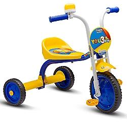 Comprar Triciclo 3 Rodas Bicicleta Infantil Menino You3 Boy-Nathor