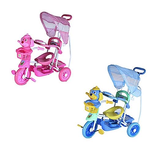 Comprar Triciclo Infantil com Capota q2x1 - Vira Balancinho-Bel Fix