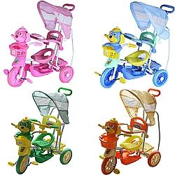 Comprar Triciclo Infantil com Capota q2x1 - Vira Gangorra.-Bel Fix