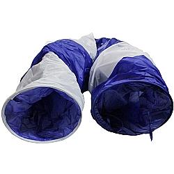 Comprar T�nel para Gato - 3 Sa�das - Azul-Importado