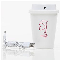 Comprar Umidificador de Ar Portátil com Cabo USB 300 Ml-Supermedy
