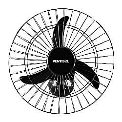 Comprar Ventilador Oscilante de Parede, 50 cm, Preto - Premium-Ventisol