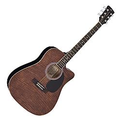 Comprar Violão Acústico Folk Cutaway Maple Flamed-Vogga