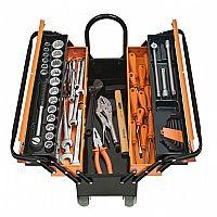 Comprar Caixa metálica com ferramentas 60 peças – Cargobox-Tramontina