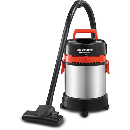Aspirador de Po e Liquidos, 20 litros, 1400 watts - AP 4850 - Black & Decker