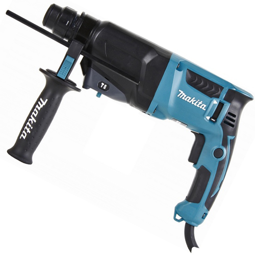 Martelete rotativo eletrico 800 watts 26 mm - HR2600 - Makita
