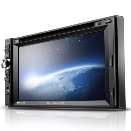 Dvd automotivo Evolve, 6.2 ´ ´ - Gps, Tv Digital, Som - Multilaser